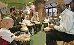UAMS Organizes Performance for Patients and Family