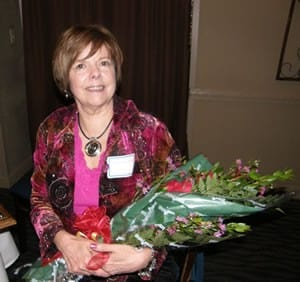 Gwen V. Childs, Ph.D., received the 2009 Outstanding Woman Faculty Award on March 12 at the annual Women's Faculty Development Caucus dinner.