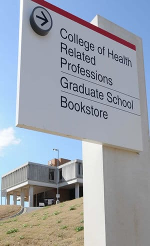 The UAMS College of Health Related Professions is moving into buildings formerly owned by the Arkansas State Hospital.