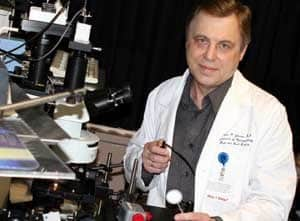 Vladimir Zharov has received $2.3 million in three new separate grants to further his groundbreaking research in nanomedicine.