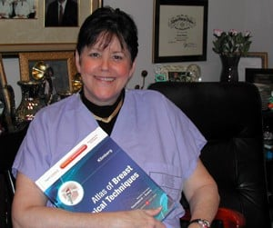 Suzanne Klimberg, M.D., developed many of the surgical techniques in her new book for surgeons and medical students.