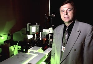 Vladimir Zharov's team of researchers has discovered a way to capture tumor cells in the bloodstream.