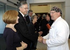 Dan Rahn, M.D., became the fourth UAMS chancellor on Nov. 1.