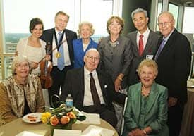 Zharov investiture McGill family