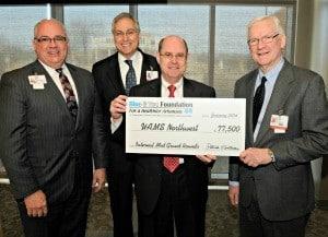 The internal medicine residency program under development at UAMS Northwest received a $77,500 grant.
