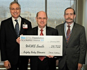 The Safety Baby Showers program at UAMS South in Magnolia received a $29,722 grant.