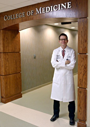 Thomas K. Schulz, M.D., is director of the newly accredited internal medicine residency program on UAMS' Northwest Arkansas Campus.