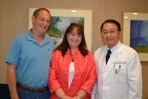 Tom and Jennifer Webb meet with Pham H. Liem, the geriatrician who diagnosed Tom Webb's Lewy body dementia.