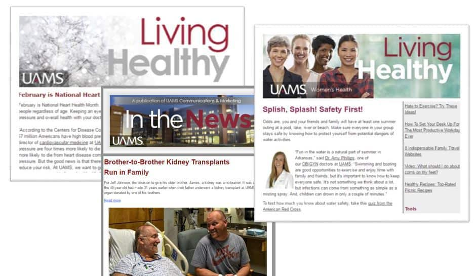 UAMS newsletter sign up