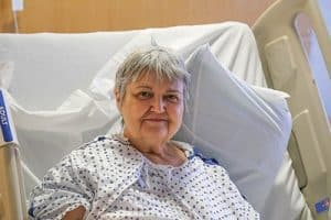 Mary Lemaster had a stroke while attending church Feb. 7, 2016. She was taken to UAMS on an ambulance, administered tPA and had her clot removed.