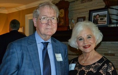 Dr. Samuel E. Landrum and Helen Lanier attended the event, which drew close to 100 guests.