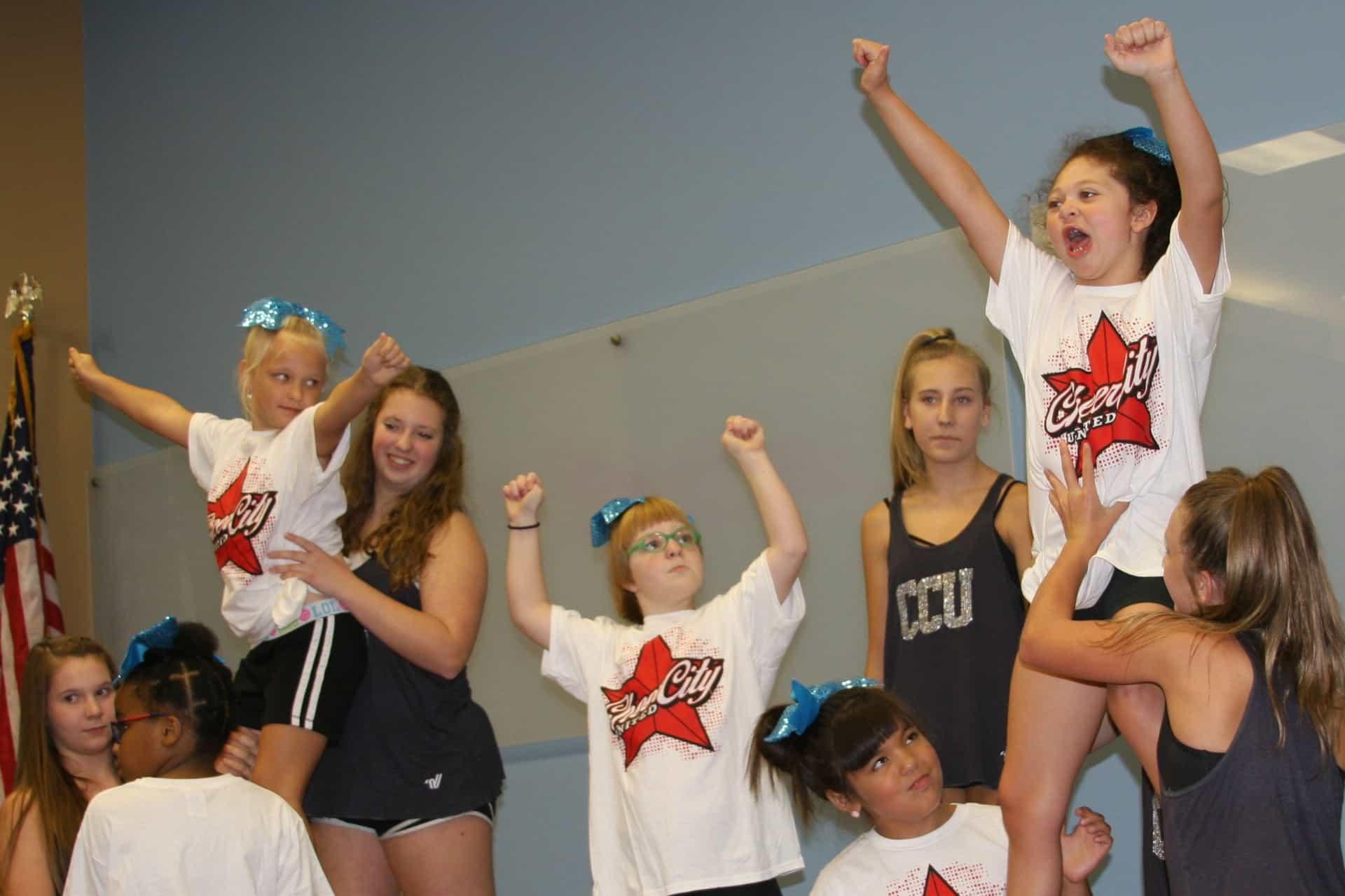Special needs cheerleaders