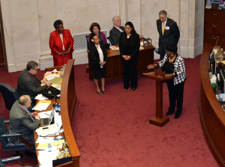 UAMS at Arkansas Senate