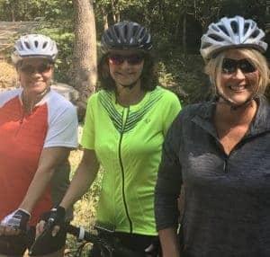 Lisa Jiles, Shelly Moon, Julie Ferguson of Conway
