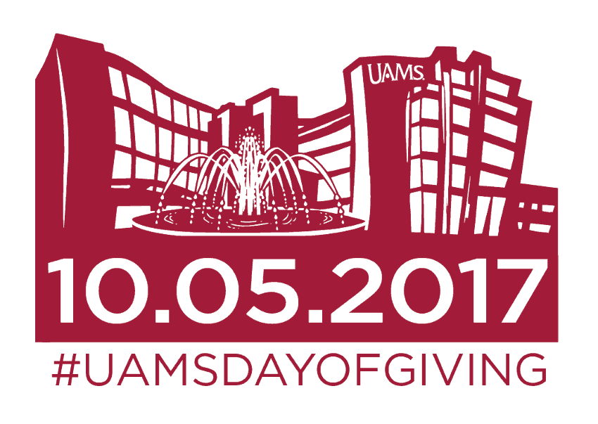Gifts for the first-ever UAMS Day of Giving from more than 1,000 donors from 16 states, and from as far away as London. At least 186 separate areas of UAMS were earmarked by donors to receive funds.