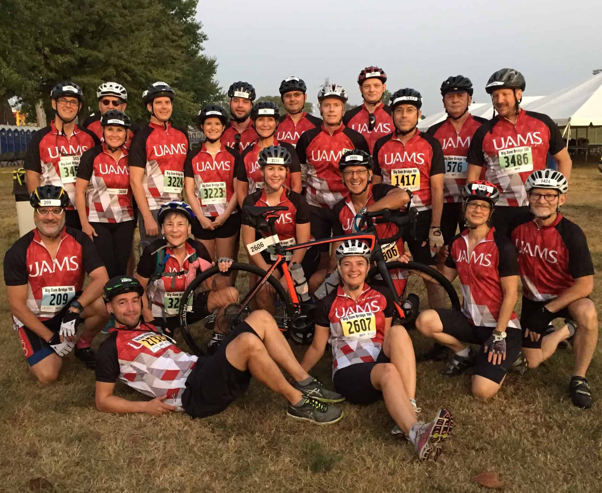 Ride for Research Team UAMS