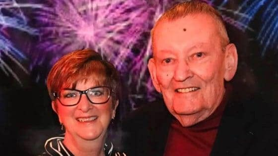 Jerry Moskwiak, pictured with his wife, Sharon,