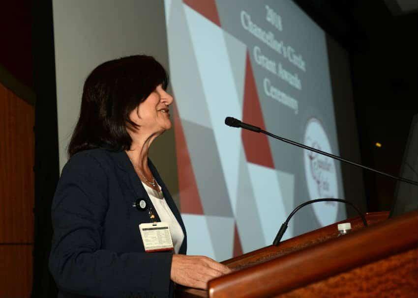 UAMS Interim Chancellor Stephanie Gardner, Pharm.D., Ed.D., announced 13 recipients of the annual Chancellor's Circle awards on March 7.