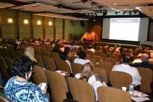 About 100 people attended the two-day Diabetes Update Symposium.