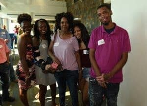 Merchel Moore and guests
