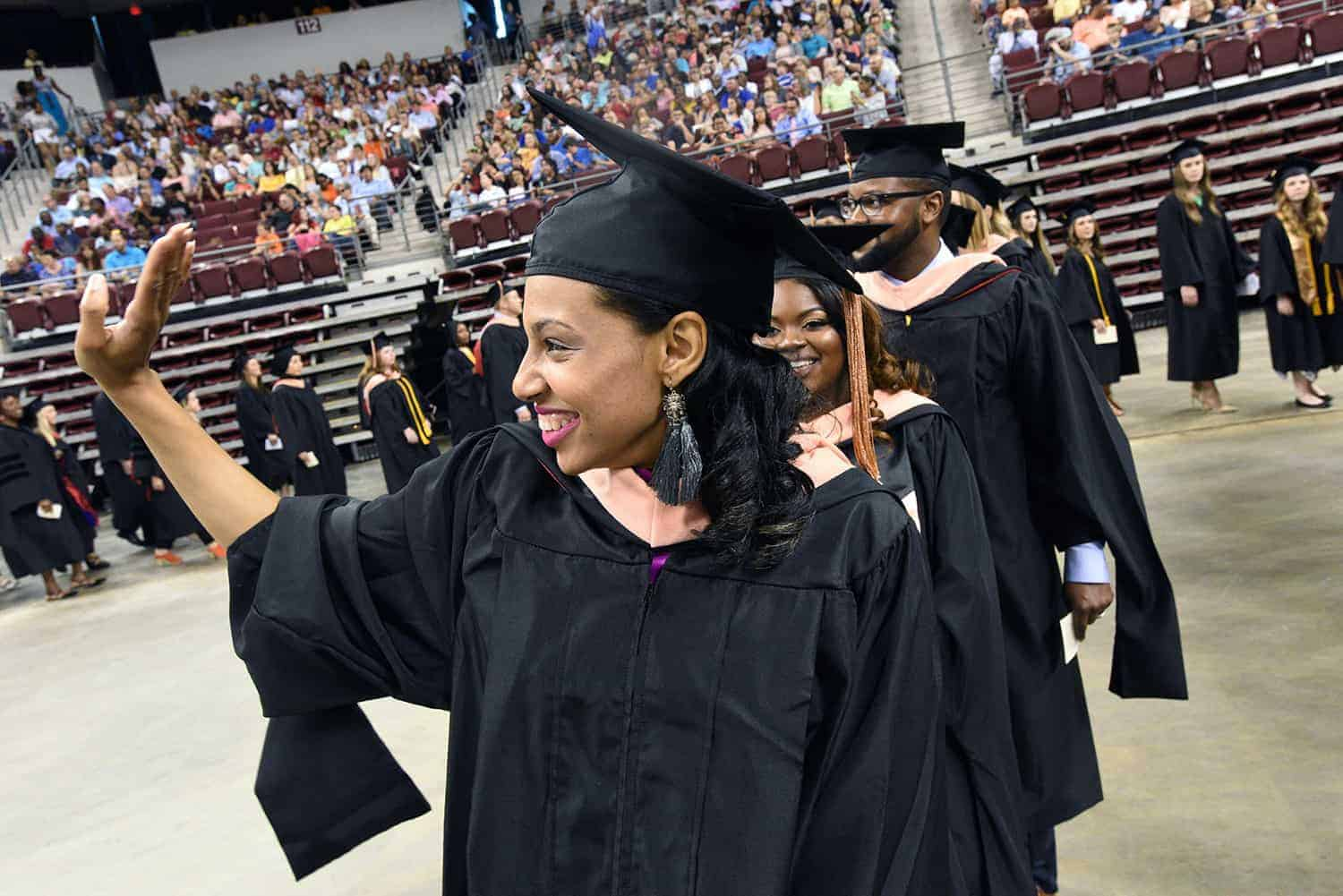 UAMS celebrated 969 new health care professionals at its 2018 commencement ceremony May 19 at Verizon Arena in North Little Rock.