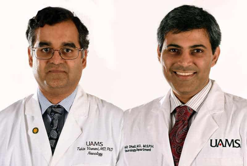 Portraits of two doctors: Virmani and Dhall