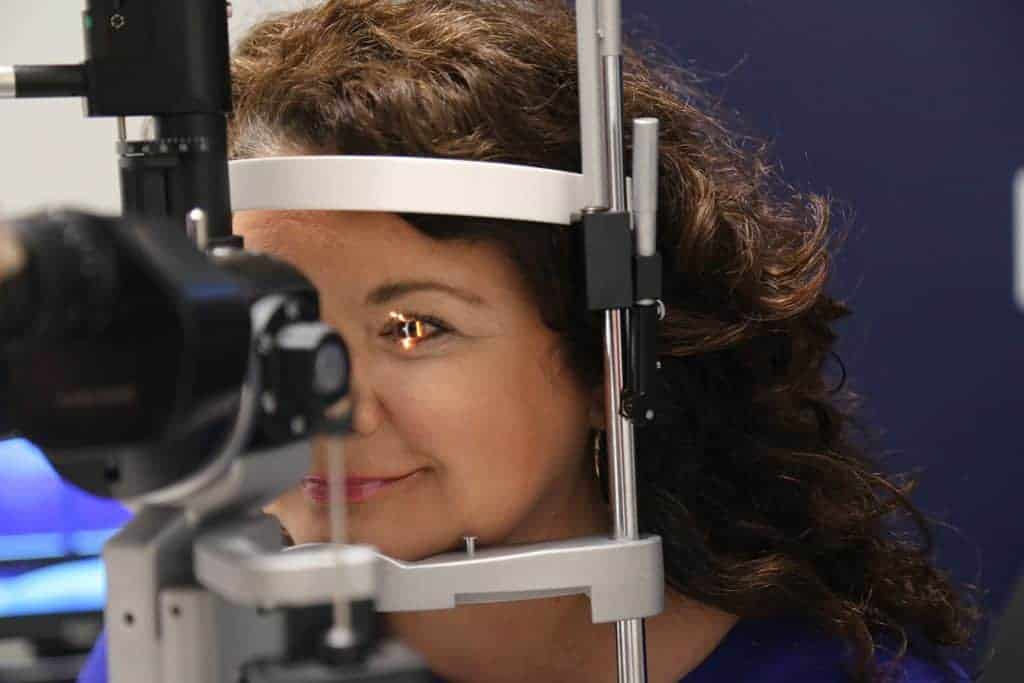 Cindy Jones has dealt with eye issues for most of her life, but her treatment from David Warner, M.D., at UAMS' Harvey & Bernice Jones Eye Institute has resulted in positive change.