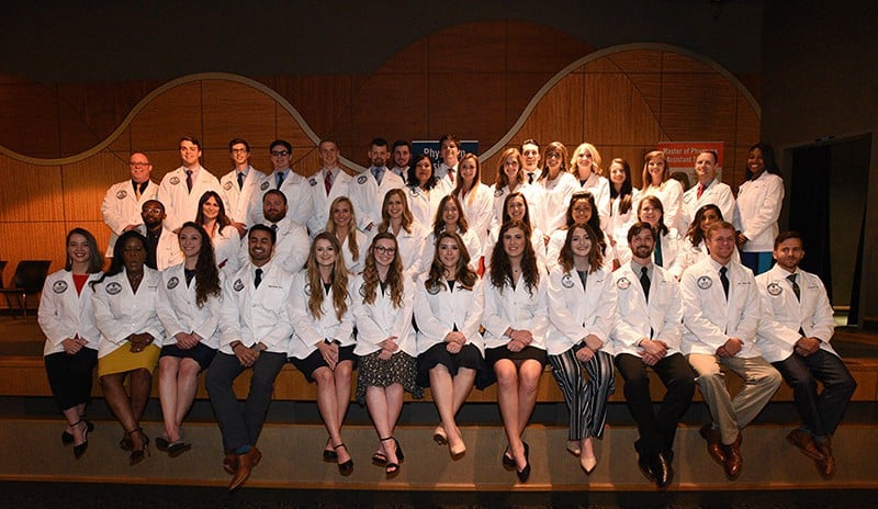 The Physician Assistant Class of 2020 was awarded their white coats during a May 25 ceremony.