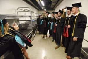 DPT Student Hooding