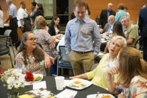 More than 100 people attended the Dean's Luncheon during Alumni Weekend.