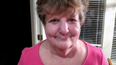 Janis Bendinger of Kansas City, Kansas, who was treated here in 2001, is currently in remission with no maintenance, and continues to count her blessings.