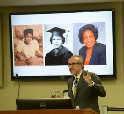 Erick Messias, M.D., speaks on Jones' legacy.