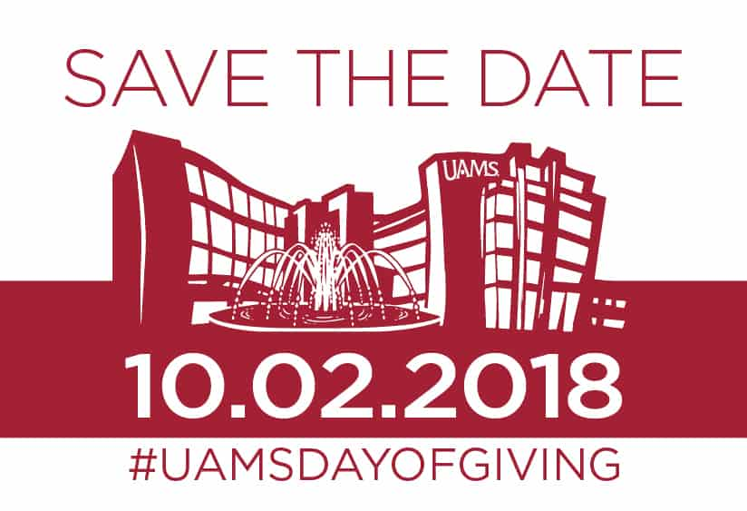 UAMS Day of Giving Oct. 2, 2018