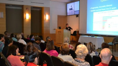 Angela Catic, M.D., speaks about tube feeding versus hand feeding with advanced dementia patients.