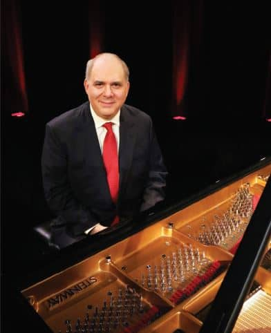 """Richard Glazier paid tribute to the Gershwin brothers in """"Gershwin: Remembrance and Discovery"""" on Sept. 28 at the CALS Ron Robinson Theater."""