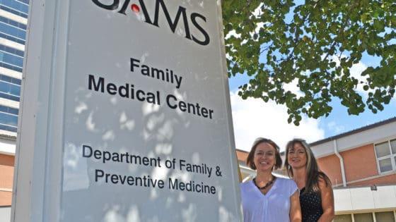 Whiteside-Mansell and Dubriske near Family Medicine sign