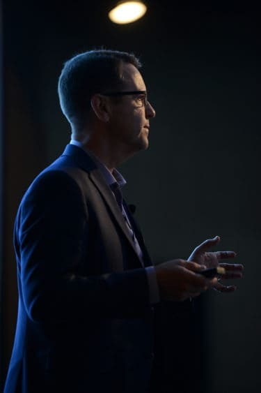Dr. Gandy gives presentation