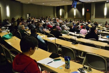 About 150 physicians, nurses and caregivers attended the third annual Dementia Update at UAMS.
