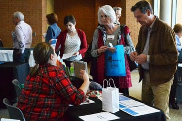 Several vendors and senior care providers also had booths and tables at the Dementia Update.