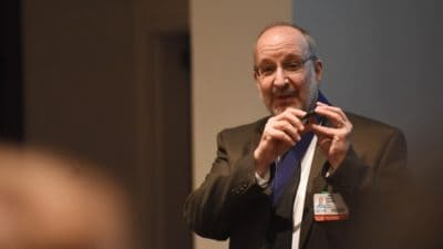 David Ussery, Ph.D., conducting a sequencing workshop. (file photo)