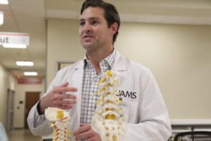 Samuel Overley, M.D. is an orthopeadic spine surgeon at UAMS.