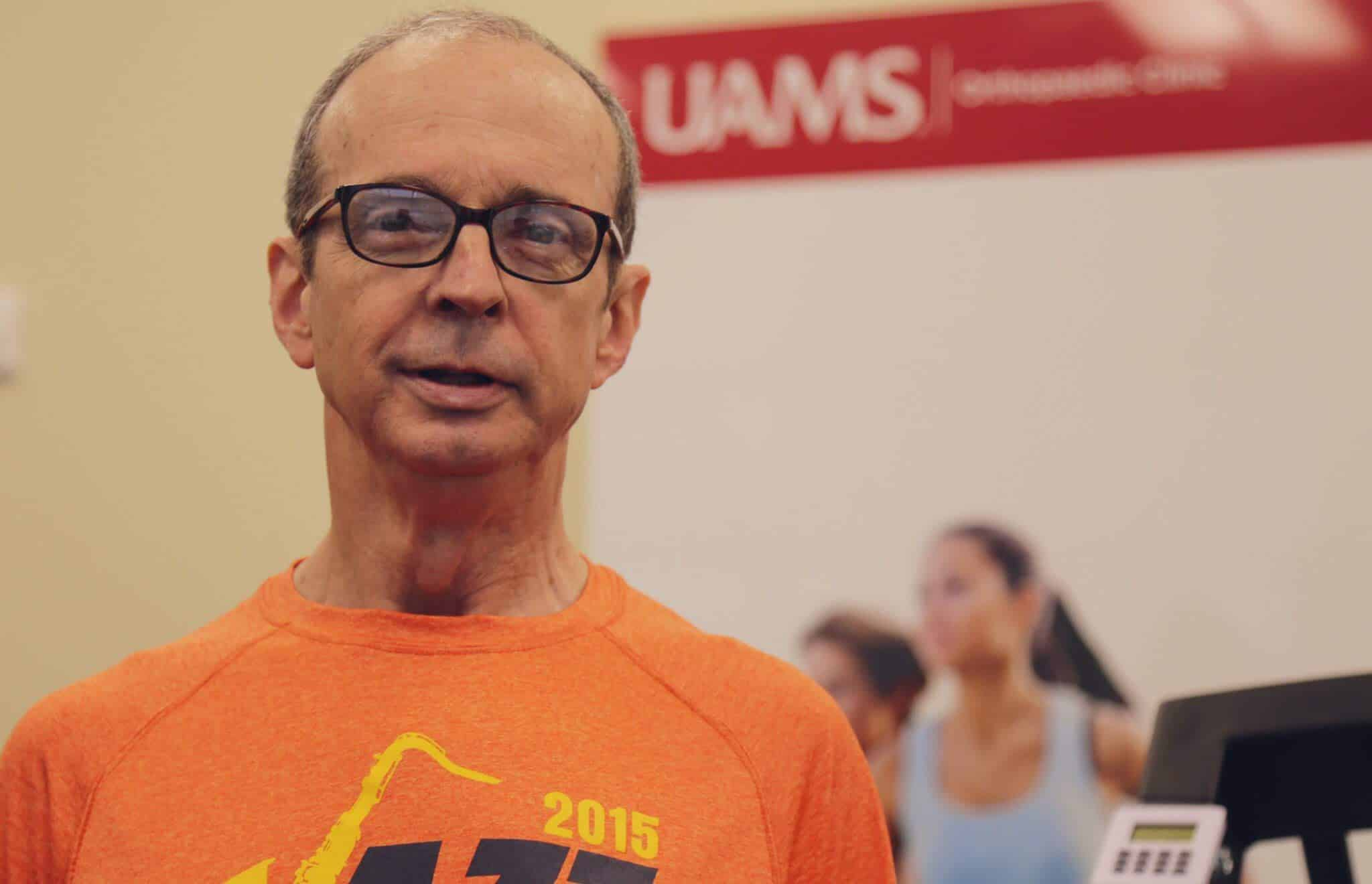 Ted Holder is training for the Boston Marathon in April.