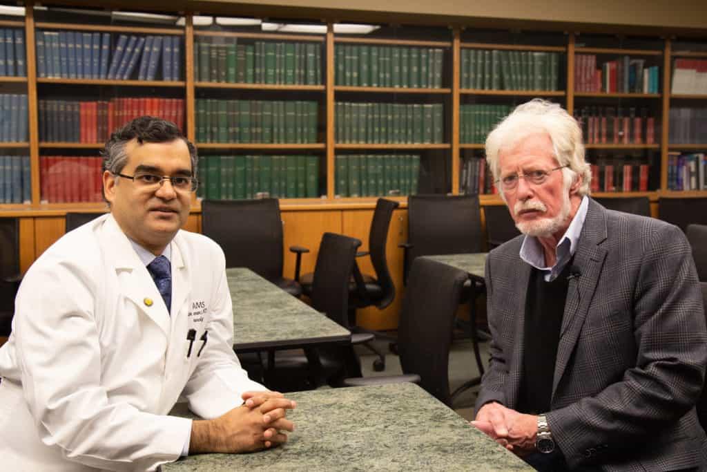Glenn Davis, M.D., was diagnosed with Parkinson's disease in 2007.