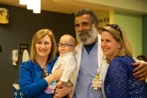 Hayes Haupt spent 93 days in the UAMS NICU last year.