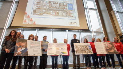 In a partnership between UAMS and Ronald McDonald House Charities of Arkansas, a space in the NICU will provide a home-away-from-home are for families.