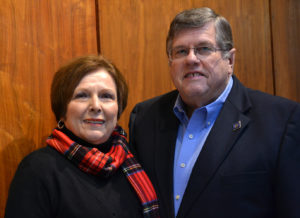 Judy Sims joined the CHP Advisory Board after her husband, Bobby, met then-Dean Douglas Murphy, Ph.D., at a Rotary Club meeting.