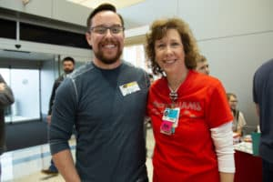 Jason Moix  was one of nurse Sharon Wilhelm's first babies to care for when she started her nursing career.