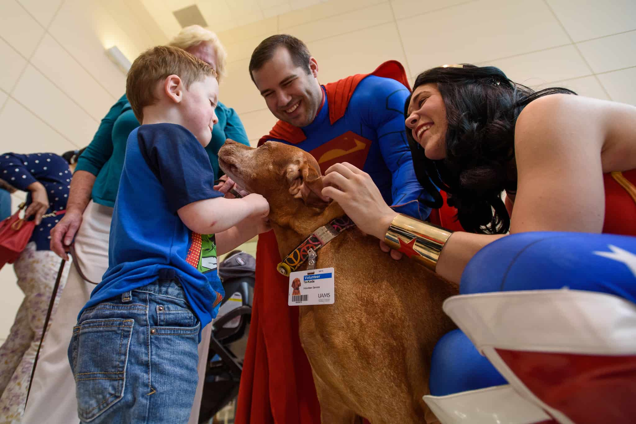 Hundreds of families attended the annual NICU Reunion held April 13 at UAMS Medical Center.