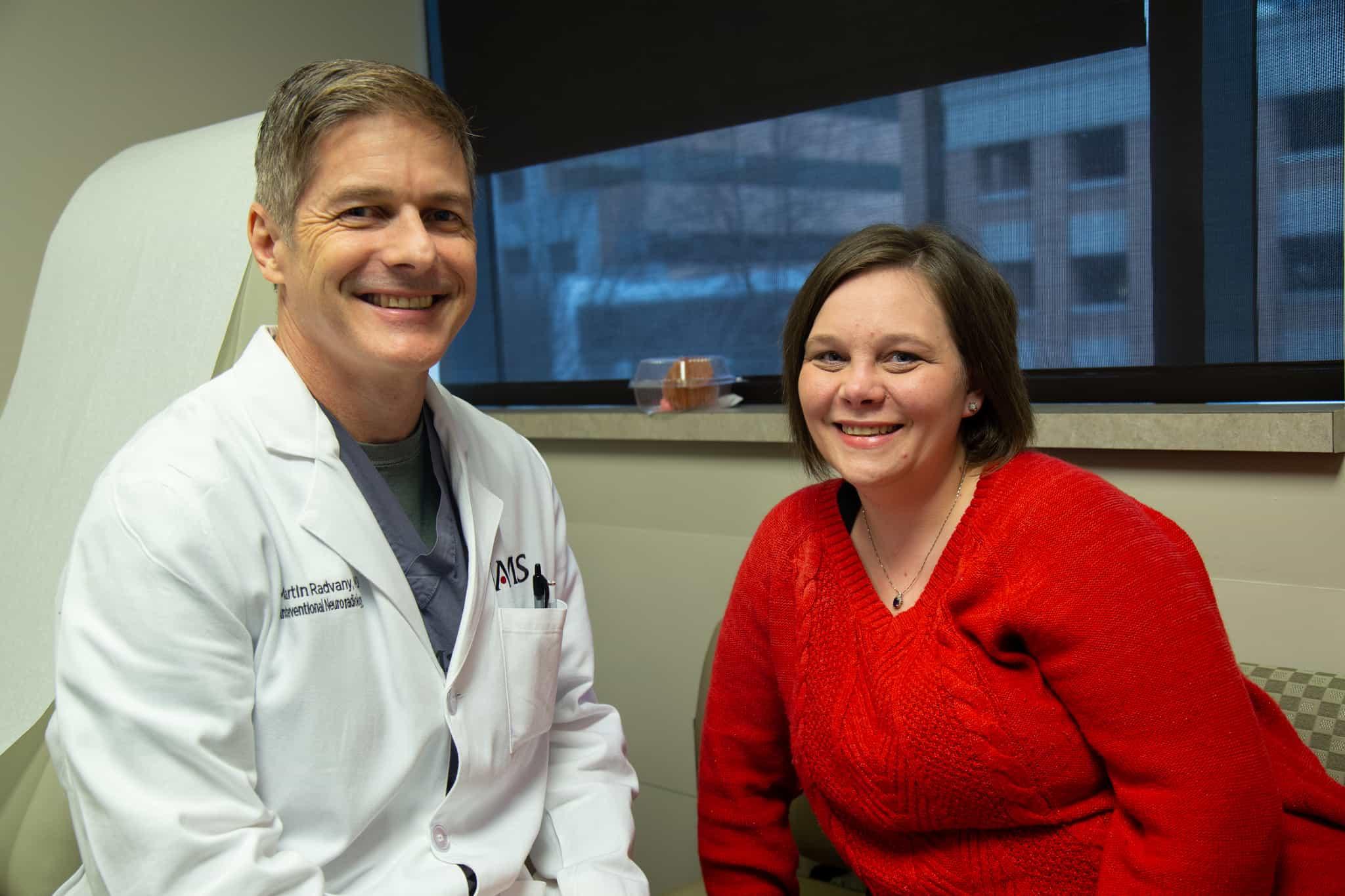 Physician Treats Rare Cerebrovascular Disease, Restores Patient's
