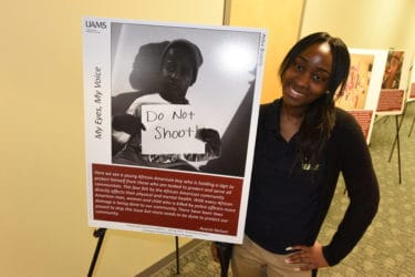 Acacia Nelson said the academy has inspired her to consider community research as a career.